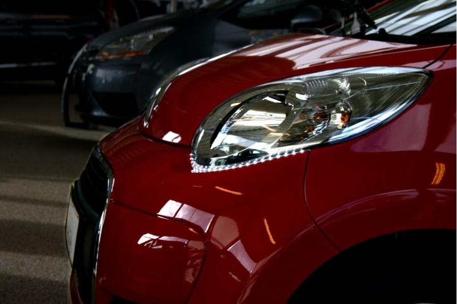 Led strips butz car electronics for Citroen c1 led verlichting